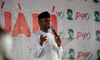 Osinbajo: Mentioning the name of PDP gives me headache