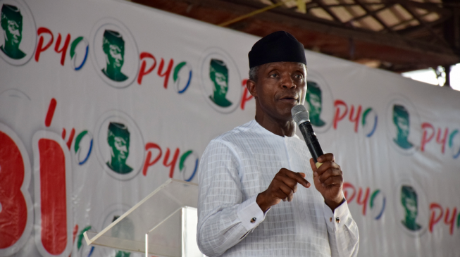 Buhari will not steal our money, says Osinbajo as he begins door-to-door campaign