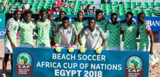 Super Sand Eagles defeat Egypt to qualify for Beach Soccer World Cup