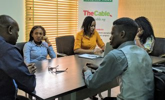 PHOTOS: UI Campus journalists on learning visit to TheCable