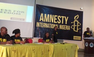 Amnesty launches press freedom campaign, says Nigeria becoming harder for journalists