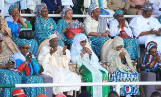 PHOTOS: Aisha Buhari, Ganduje lead APC women and youth rally in Kano