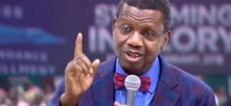Adeboye: My sons, don't marry a lady who can't cook, do chores