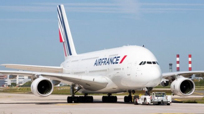 France-bound passengers stranded in Lagos after engine failure