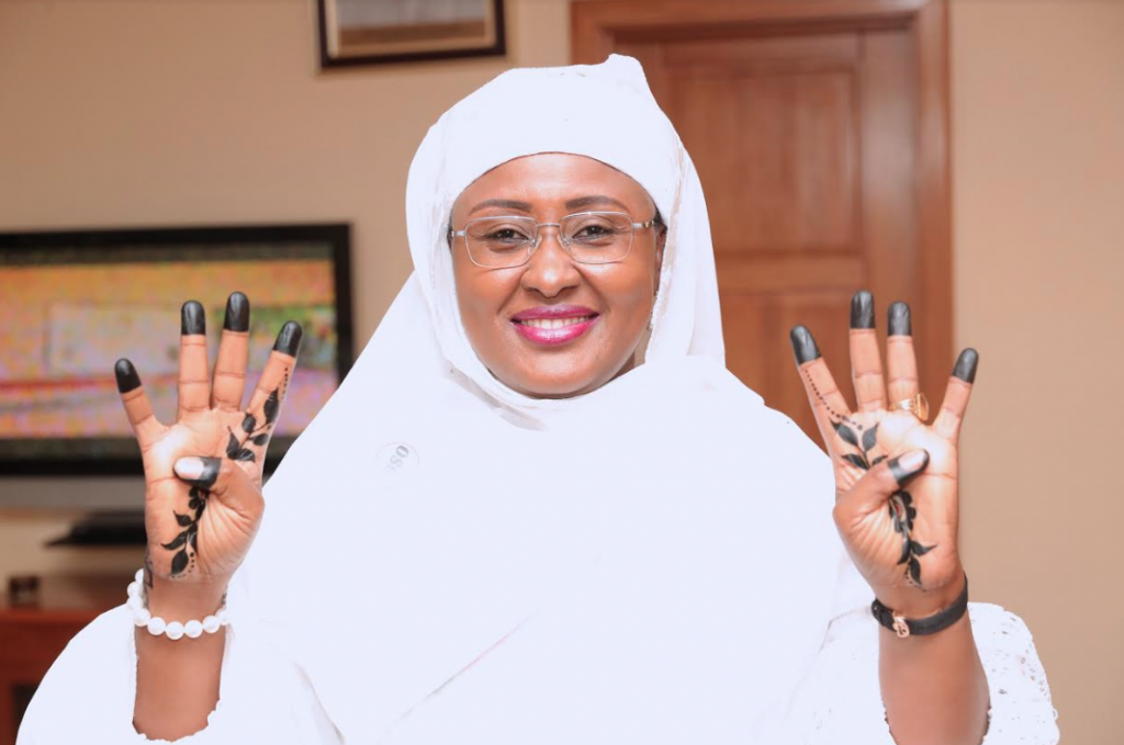 Image result for Aisha Buhari,