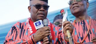 Akpabio has threatened to 'capture Akwa Ibom in three hours'