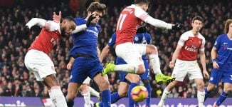 Arsenal beat Chelsea in London derby as Man United, Liverpool secure wins