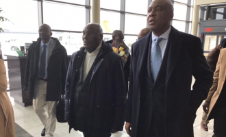 VIDEO: The moment Atiku landed in US after 13 years