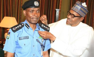 Buhari names Adamu acting IGP, decorates him with new rank