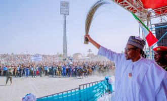 Buhari's campaign trail to hit Lagos five days to election