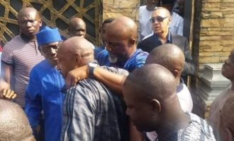'When will he end this drama?' — and other reactions  to 'collapse' of Melaye