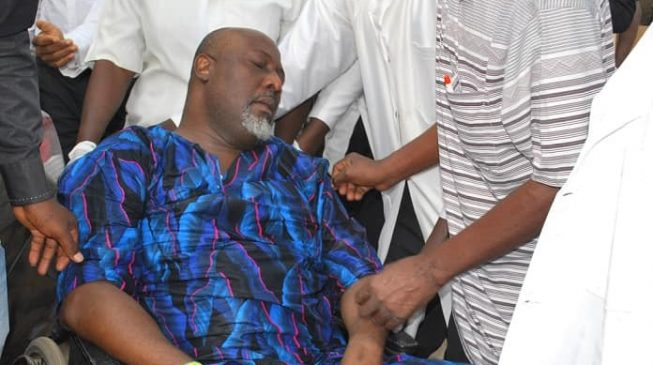 Image result for Police Move Dino Melaye From DSS Facility To SARS Office
