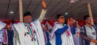 PHOTOS: PDP heavyweights storm Nasarawa