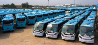 PHOTOS: Lagos set to roll out 820 new buses in March
