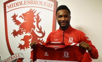 Mikel joins Championship side Middlesbrough