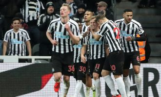EPL wrap-up: Newcastle stun City as United's winning streak ends