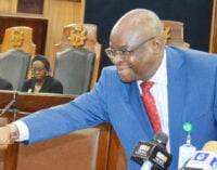 Lawyers advise ex-CJN to resign and consider plea bargain