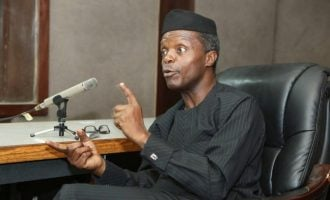 Osinbajo to IGP: Probe allegation that I received N4bn from Magu