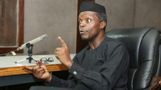 Osinbajo: Buhari has ordered prosecution of Lawal, Oke