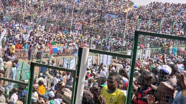 VIDEO: Kano 'stands still' for Buhari