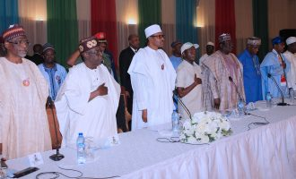 APC govs absent as Buhari, Tinubu attend inaugural campaign council meeting