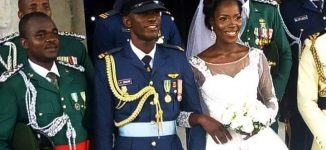 Tributes pour in for air force fighter who died in Boko Haram war — three weeks after wedding