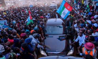 Lalong: Why Buhari didn't address the crowd at Plateau APC rally