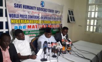 Human rights group blames Borno for deportation of '100,000 Nigerians' from Cameroon