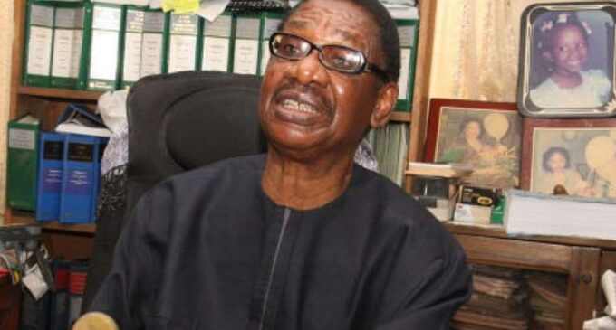 Sagay: Obasanjo is president-general of Nigeria for life… in his mind