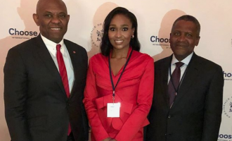 Bella Disu attends Global CEOs summit as Glo seals Nokia Alcatel-Lucent deal