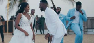 WATCH: Adekunle Gold, Simi share moments from their wedding in 'Promise'