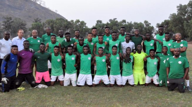 Rohr assures Flying Eagles players of promotion to Super Eagles