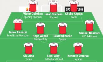 Osimhen, Success, Nnamani, Akpom… TheCable's team of the week