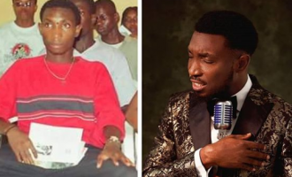 TRENDING: Nigerian celebs share hilarious photos as #10YearsChallenge fever spreads