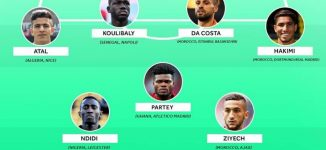 Ndidi is only Nigerian in France Football's African team of the year
