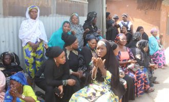 Kwara women protest against violence in Ilorin