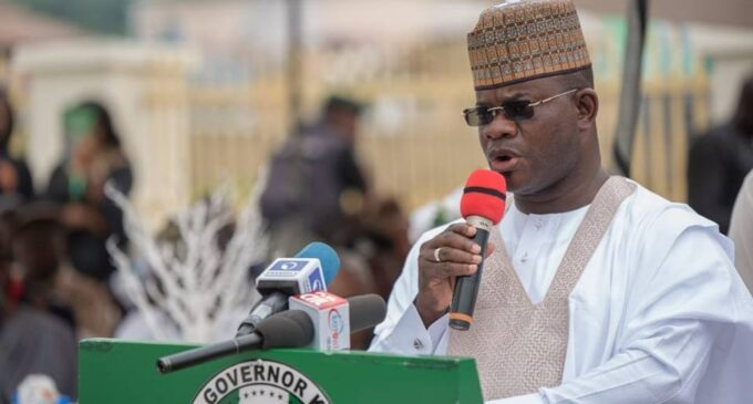 Yahaya Bello: I'm overjoyed… Kogi workers' salary arrears have been cleared
