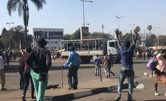 'Many killed' as Zimbabwean soldiers open fire on fuel hike protesters