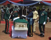 PHOTOS: Badeh laid to rest as air chief vows to fish out killers