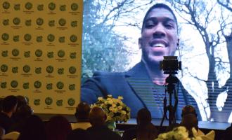 Glo unveils Anthony Joshua as brand ambassador