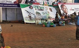 Residents escape death as scoreboard collapse at Stephen Keshi stadium