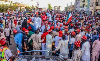 PDP: Atiku's Kano crowd shows Buhari has lost the north-west