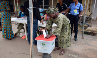 Voting for peace and progress