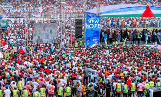 'Four killed' in stampede at Buhari's Rivers rally