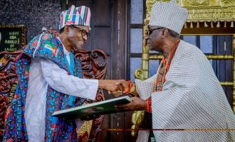 'Victory is yours' — oba of Lagos endorses Buhari