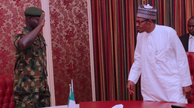 We are bound to obey Buhari, Buratai replies Atiku