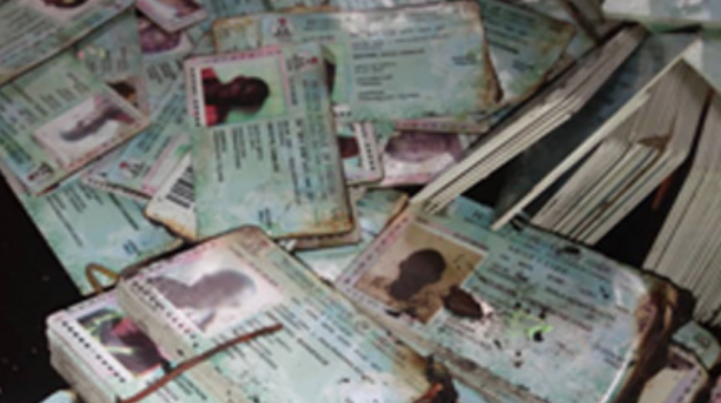 INEC: All burnt PVCs in Abia, Plateau will be reprinted before elections