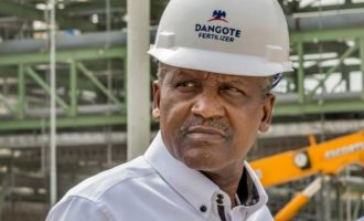 Dangote jumps 40 places on billionaire index– courtesy of fertilizer plant