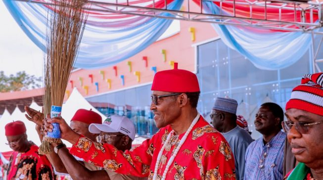 Umahi: Why I asked 2000 people to attend Buhari's rally