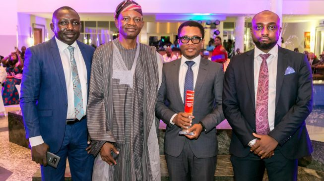 AMCON CEO wins Businessday public service excellence awards